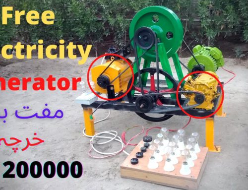 How to make Free Electricity 24 Hours Free Energy at Home | Altenator 10.5 Kw Flywheel Generator